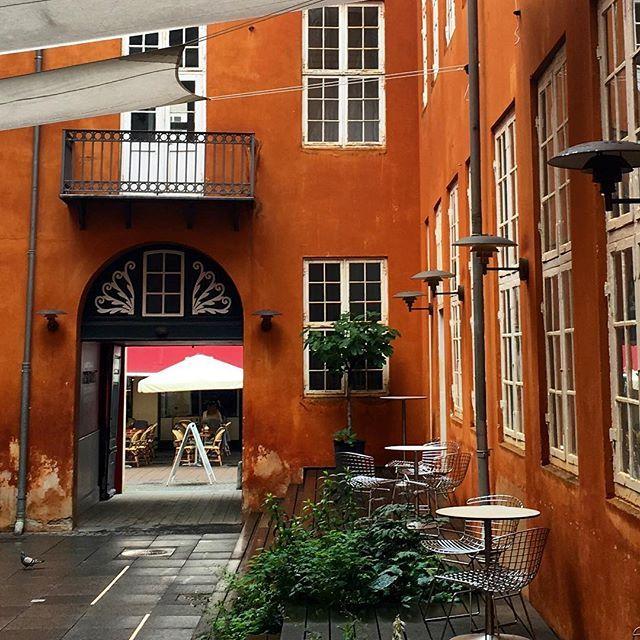 Mitt inne i Köpenhamn - vilken innergård... #köpenhamn #alternativträdgård #testino