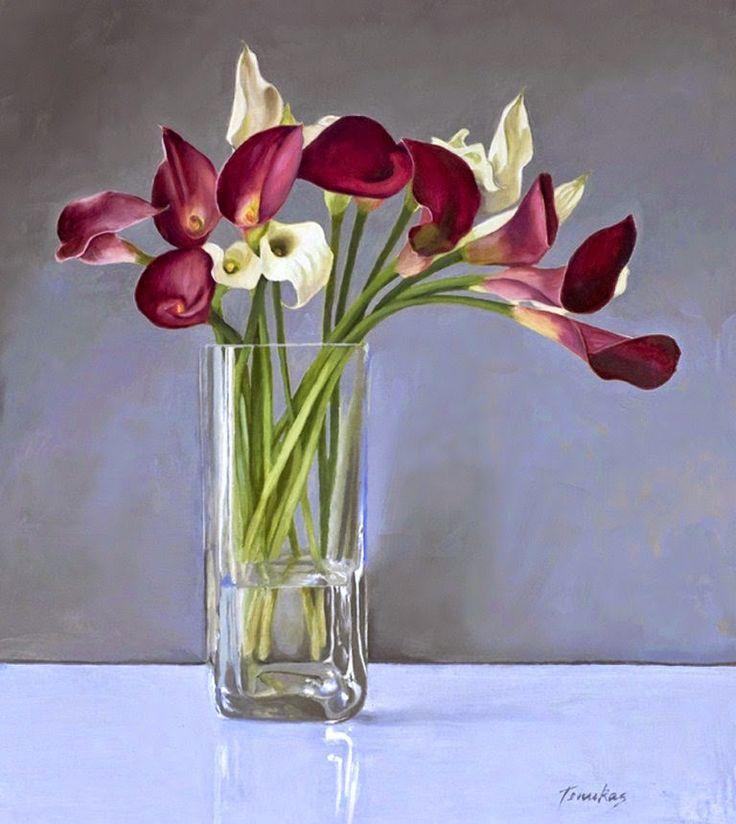 17 best ideas about jarron de flores on pinterest - Jarrones de cristal con flores ...