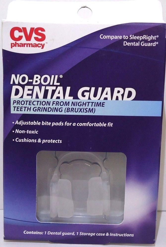 CVS dental guard No- Boil  Protection From Nighttime Teeth Grinding (BRUXISM) #CVS