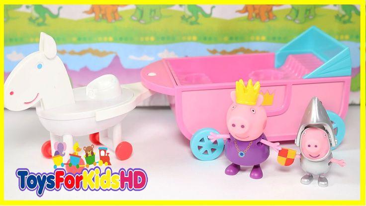 Juguetes de Peppa Pig Princess Peppa's Royal Carriage - Videos de Peppa pig - Carroza Real de Peppa
