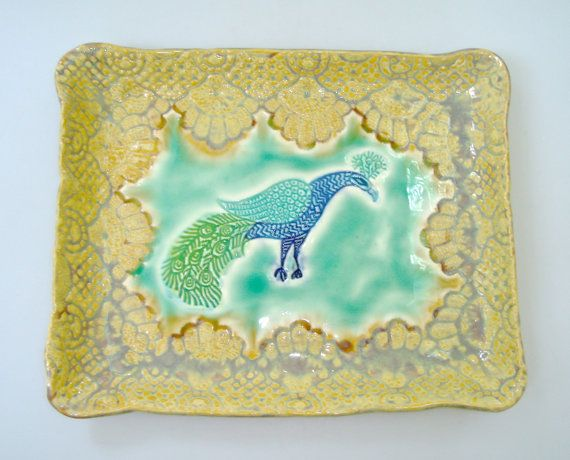 Leslie Fruman of Clayshapes brings colourful ceramic plates, platters and bowls to #DEAF14.