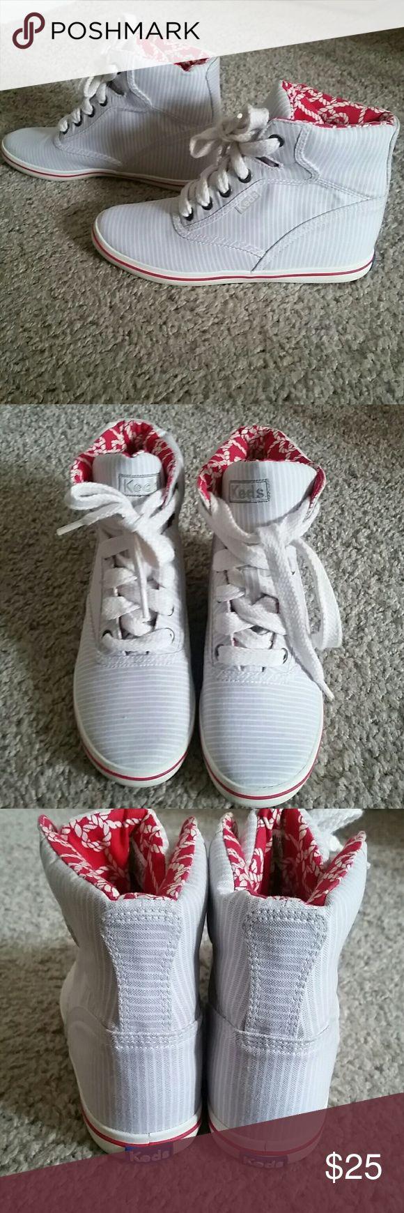 Fun Keds sneakers NWOT. 1 in. Wedge sneakers Keds Shoes Sneakers