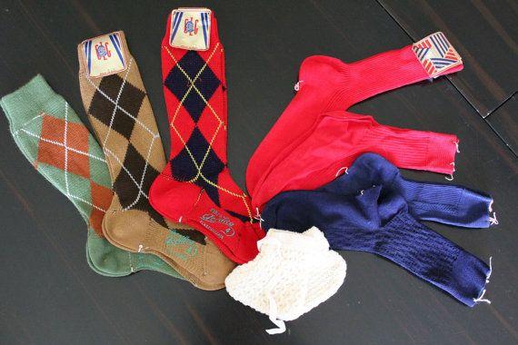 vintage calze bambino 1960 -8 pz