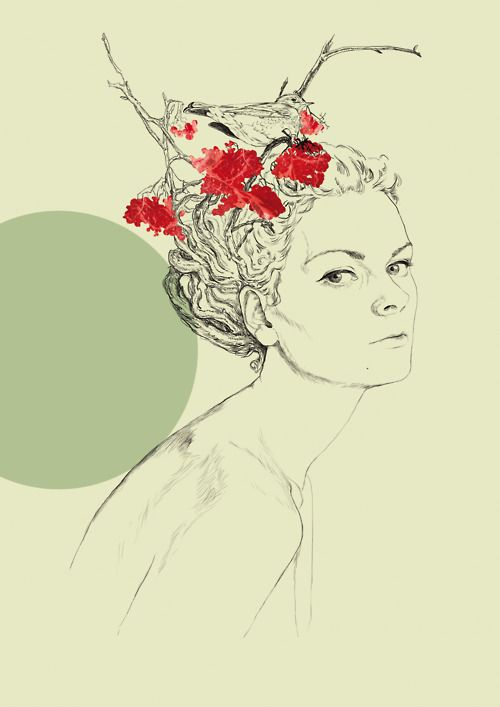 Illustration // art // drawing // girl