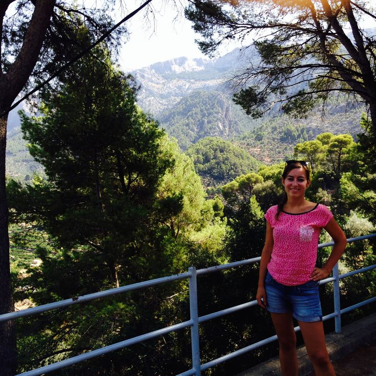 Kilátás a Sóller-i völgyre a híres Sóller-i vonatról / View to the Sóller valley from the famous train the Sóler #nature #mallorca #soller #travel #holiday