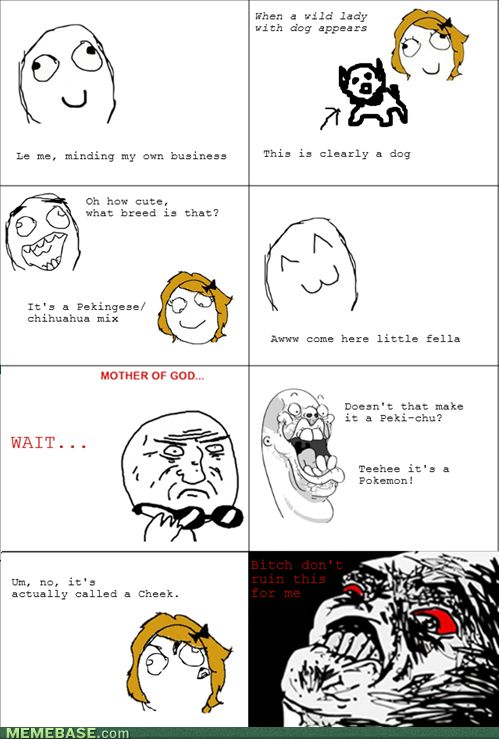 internet memes - Rage Comics: ThunderShock is the New Sit