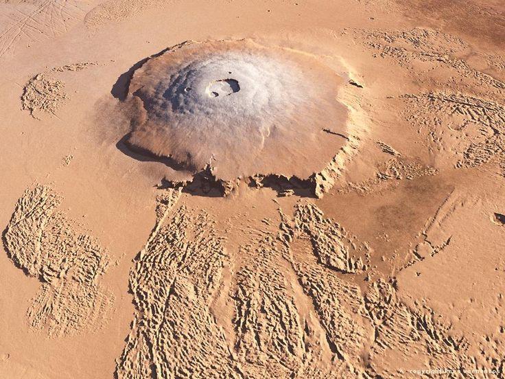Olympus Mons #Mars #OlympusMons #Volcano
