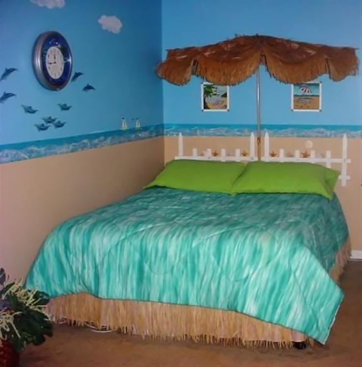 27 best surf room images on pinterest beach themed for Cute beach bedroom ideas