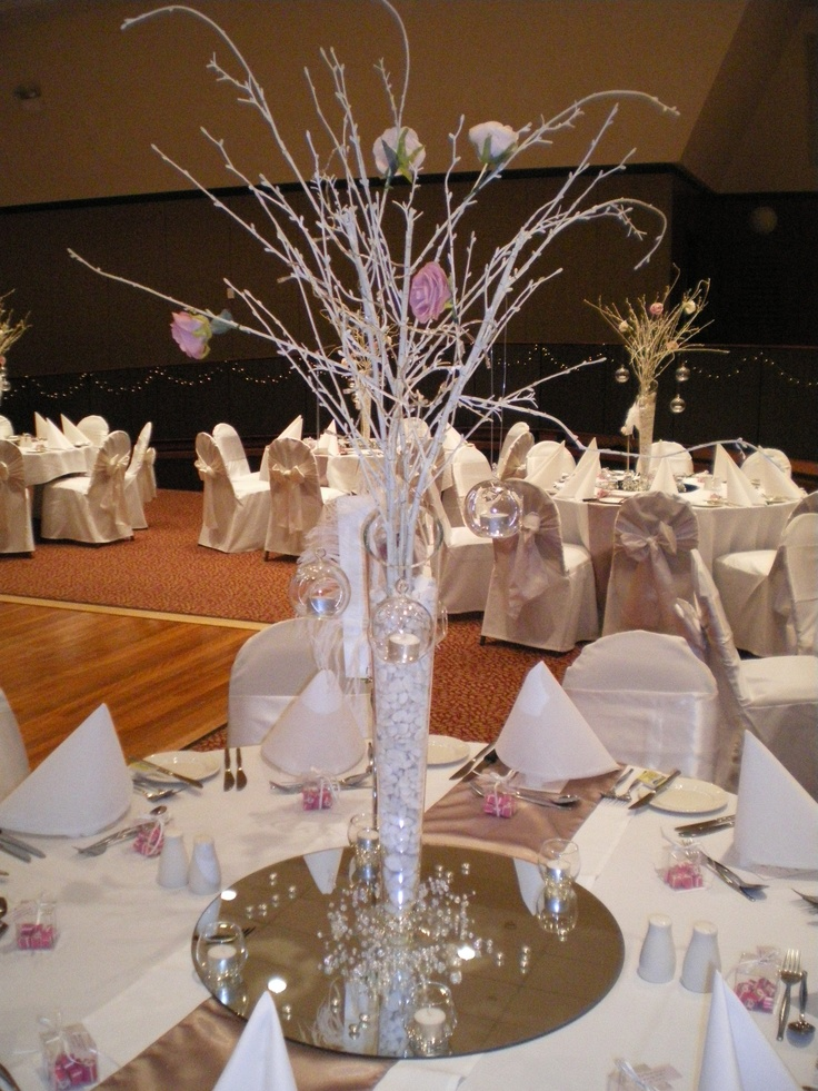 #weddingcentrepiece #birchbranch