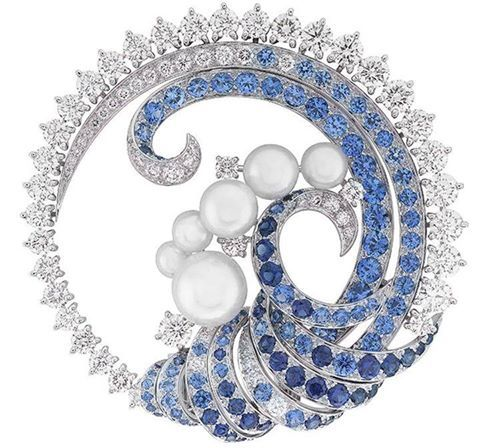 Seven Seas Brooch by Van Cleef #Brooches #Fashion #Jewelry