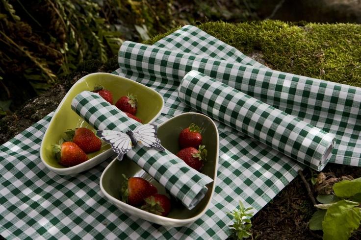 Verde vichy / Green gingham