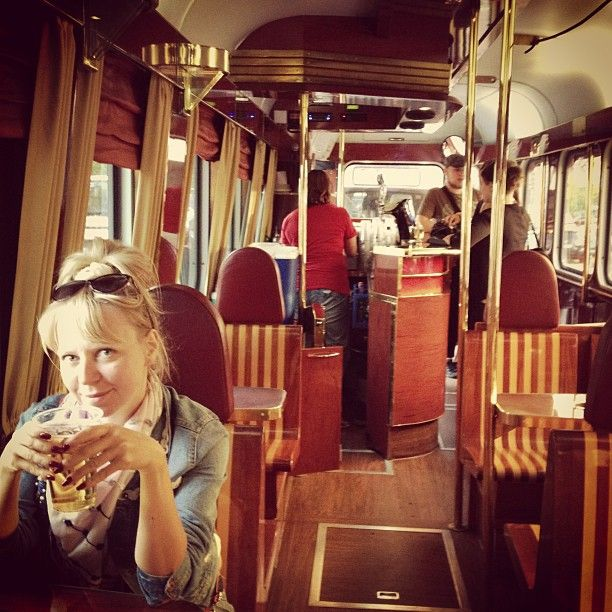 This fancy tram, which leaves from the train station, actually serves beer while simultaneously taking you on a scenic tour of the city.