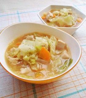 ダイエットに!キャベツと鶏胸肉のスープ by moj [クックパッド] 簡単 ...