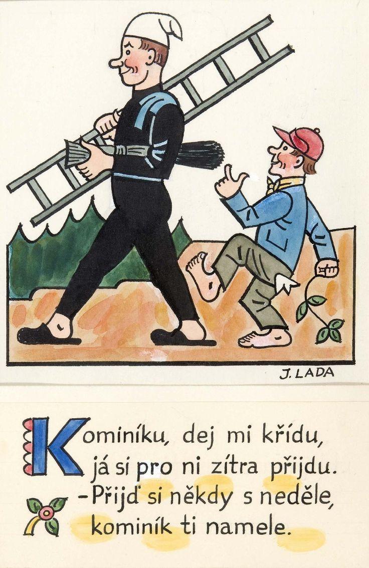 Kalamajka – Kominíku, dej mi křídu, 1913