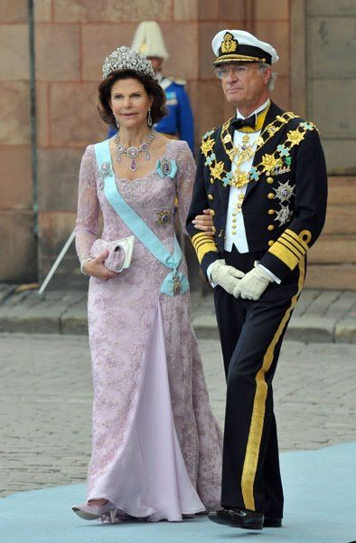 King Carl Gustaf of Sweden and Queen Silvia of Sweden