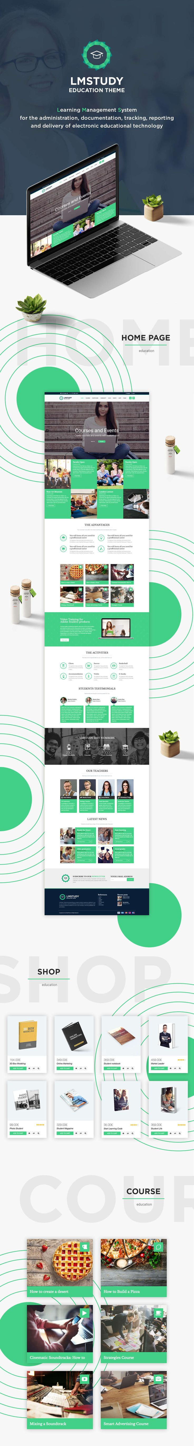 LMStudy - Course / Learning / Education LMS WooCommerce Theme by modeltheme