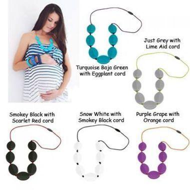 """http://www.ruggabub.com.au/for-mum/jsd-caru-necklace/ Jellystone Designs """"Caru"""" silicone necklaces are the ultimate fashion accessory."""