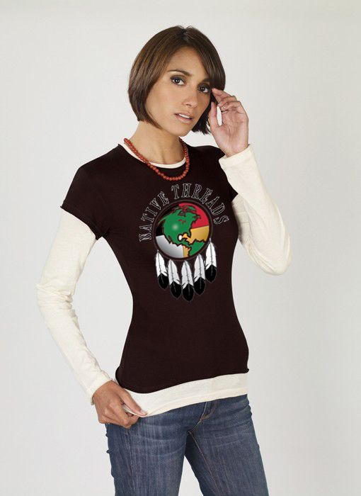 T-Shirts - Native Threads. Native Threads is well known throughout Indian Country. It's an Indian owned company that designs clothing with contemporary and colorful artwork and messages. Exceptional quality with designs that stand apart from most other Native-themed products.