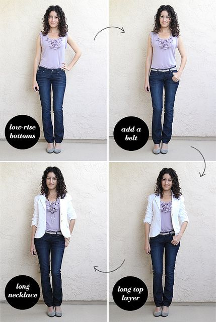 How-to-Tuck When You're Short-Waisted by Alterations Needed, via Flickr