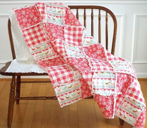 Rag Quilt Keepsake Quilt Homemade Quilts Rag Quilts For
