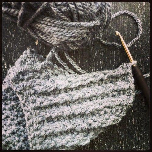 Gratis haakpatroon: stoere steek / Free pattern: tough stitch | Jenin's