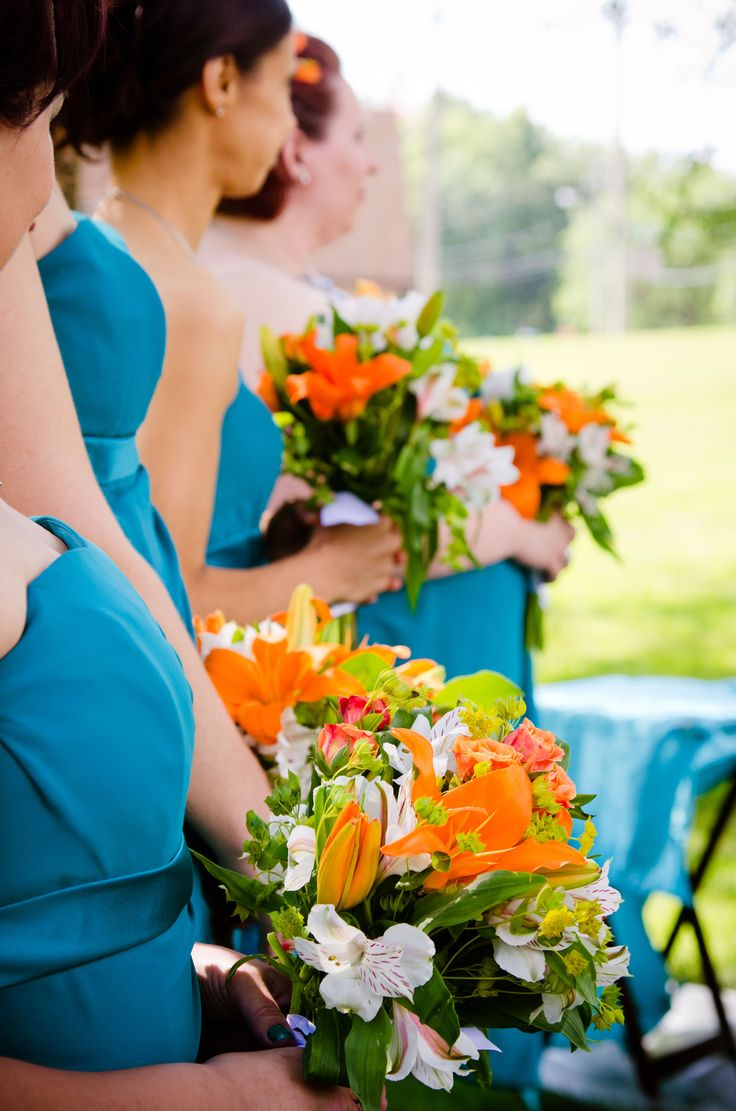 44 best Wedding Colors: Teal & Orange images on Pinterest ...