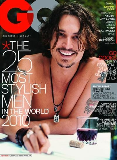 Man Jewelry: Johhni Depp, Eye Candy, Johnny Depp, Covers Stories, Johnnydepp, Beautiful People, Stylish Men, Magazines Covers, Gq Magazine
