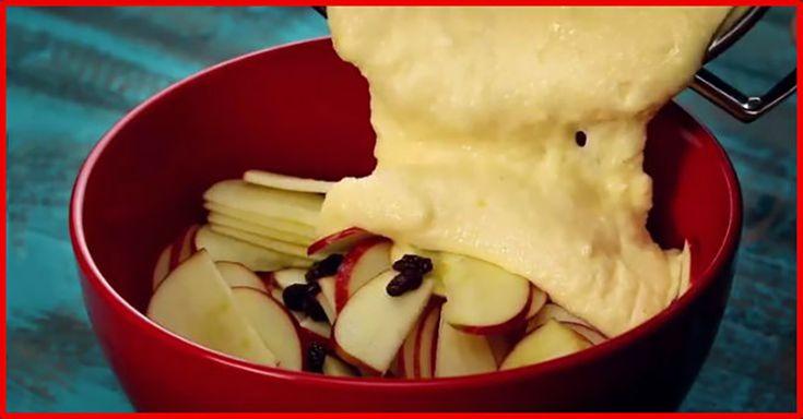 Budincă cu mere incredibil de gingașă. O prepar mereu și e pe placul tuturor! - Bucatarul