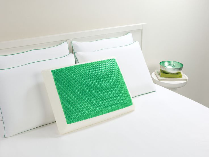a pillow that always stays cool? sign me up.