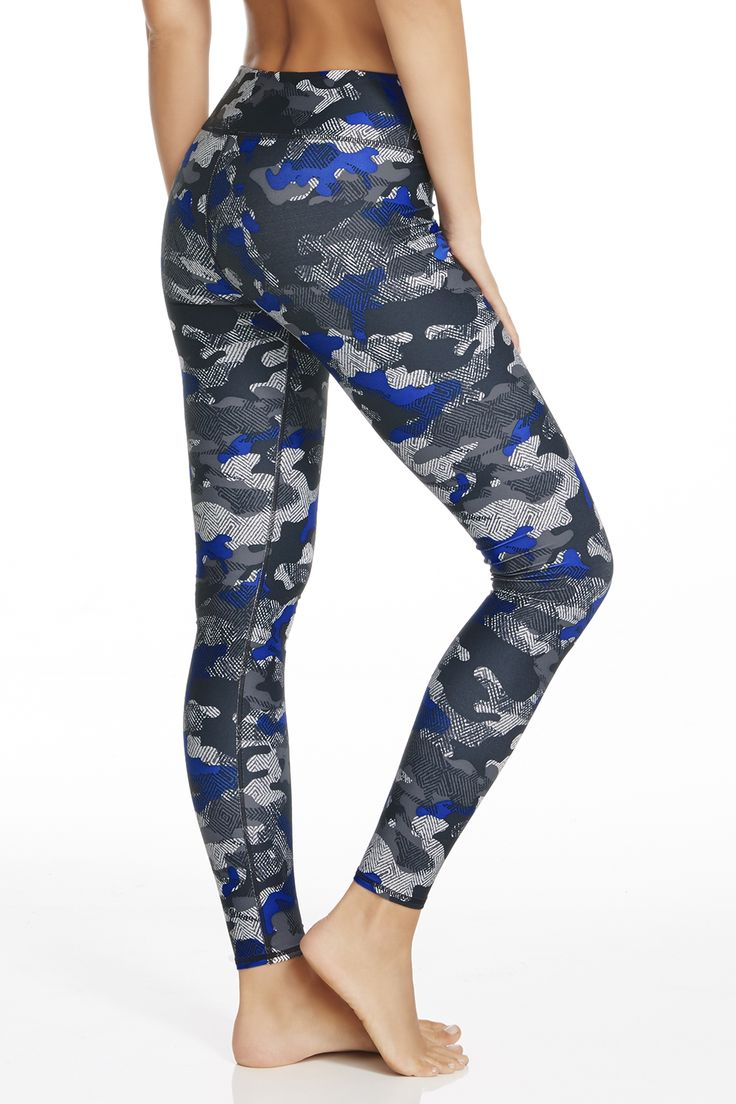 Salar Legging in Tribal Camouflage Print