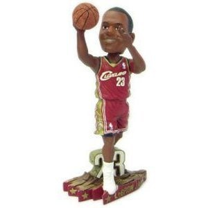 LeBron James Cleveland Cavaliers Road #3 Action Pose Bobble Head rookie year