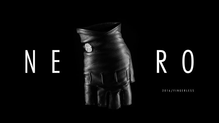 Nero 2016 / FINGERLESS  H no.3 was designed for the boldest ones to encourage your inner hustler, help you achieve your goals and stay focused. Feels like freedom.