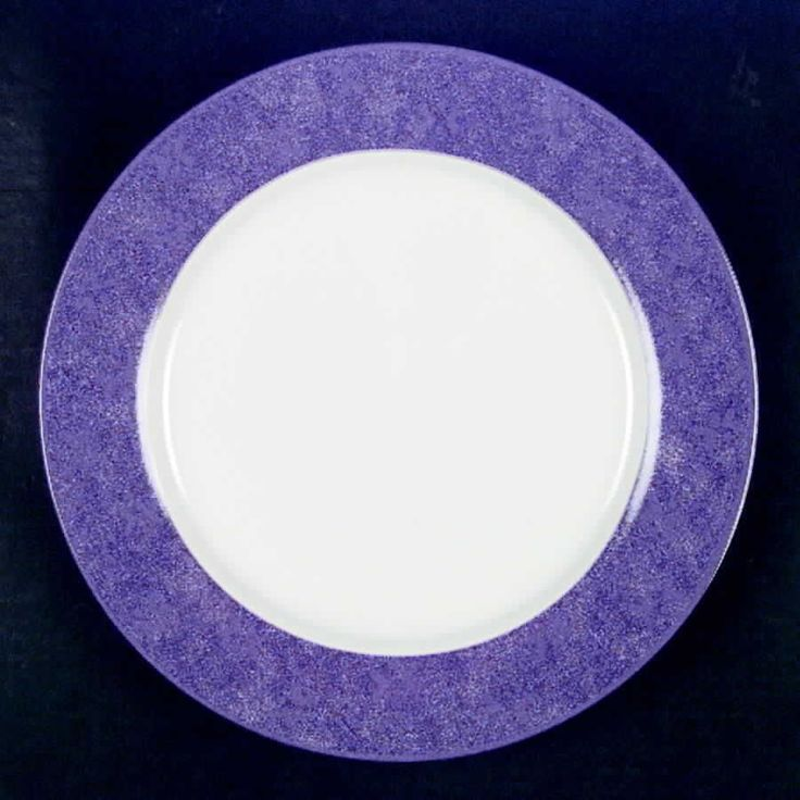 SANGO China Potpourri Purple Dinner Plate 4574606