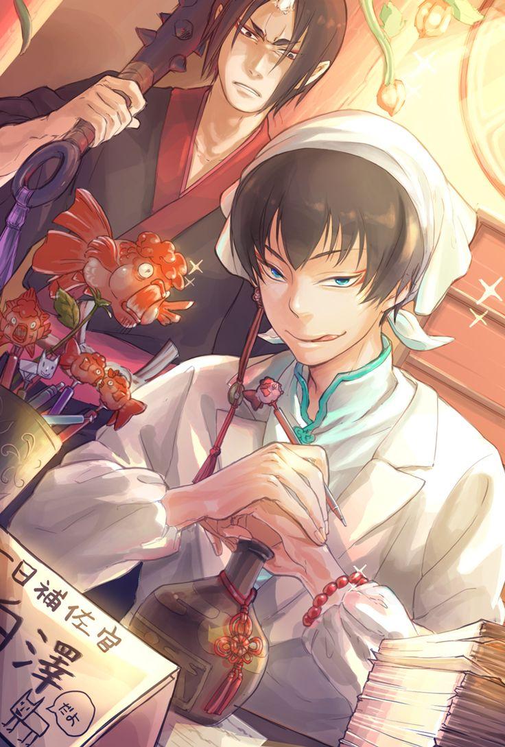 Hoozuki & Hakutaku | Hoozuki no Reitetsu #anime