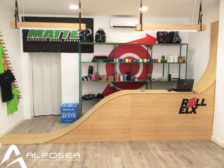 Tienda de patines, skate, skater, skateboard, roller-skate, roller skate shop