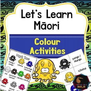 Learn colours in Maori. An activity for NZ classes.This pack features - A colour poster that introduces colours (monster themed)- 4 worksheets - A match up activity where a child matches an object to its colour name (These can also be used as colour posters)- Bingo game: callers cards and 10 different game boardsHave a look at the preview which shows everything that is included :)Suitable for immersion or mainstream classes.