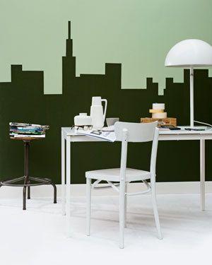Groen (én grafisch) is mode, als kleur en als maatschappelijk thema.