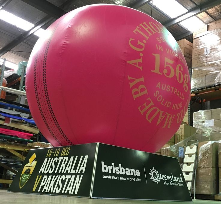 Cricket marketing ball for test matches