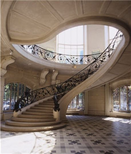 50 best escalier images on pinterest stairs railings and spiral staircases. Black Bedroom Furniture Sets. Home Design Ideas