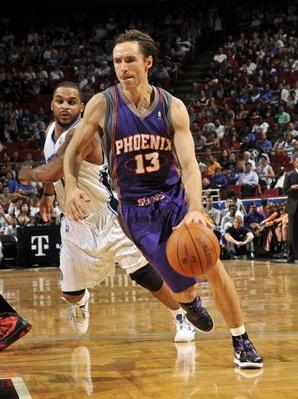 Steve Nash of the Phoenix Suns