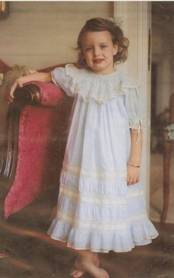 Nina heirloom smocked bishop portrait dress by marycherryheirlooms