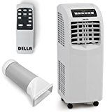 8000 BTU Portable Air Conditioner Dehumidifier Cooling A/C Unit Function Remote