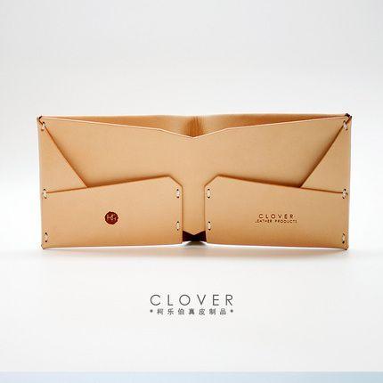 CLOVER / Келе Бо оригинальный растительного дубления кожи короткий параграф…