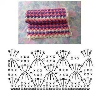 300 best crochet diagrams images on pinterest crochet patterns stitch diagram ccuart Gallery