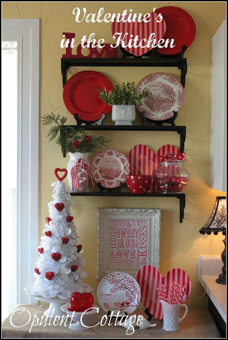 Valentine S Day Vignette At Opulent Cottage
