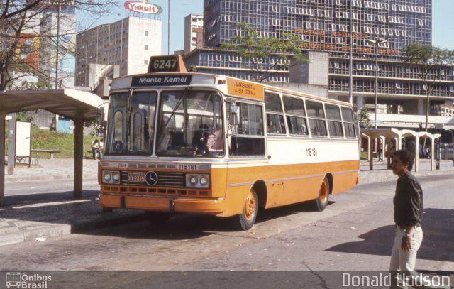 Ônibus da empresa Viação Santa Cecília, carro 118 181, carroceria CAIO Gabriela I, chassi Mercedes-Benz LPO-1113. Foto na cidade de São Paulo-SP por Donald Hudson, publicada em 29/08/2014 05:45:51.