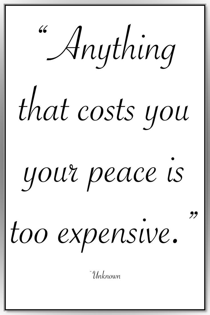 """Life Quotes >> """"Anything that costs you your peace is too expensive."""" ~Unknown >> http://on-linebusiness.com/life-quotes/ >> How to find your Life Quote…"""