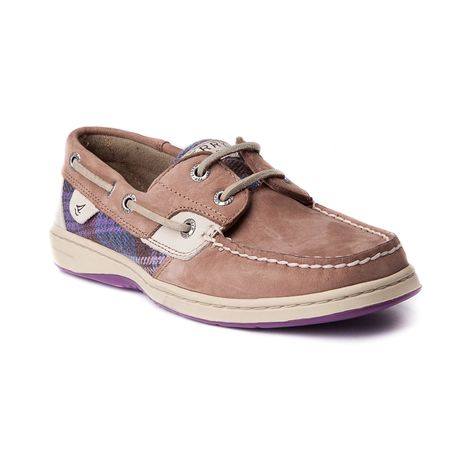 Womens Sperry Top Sider Bluefish Boat Shoe Gray