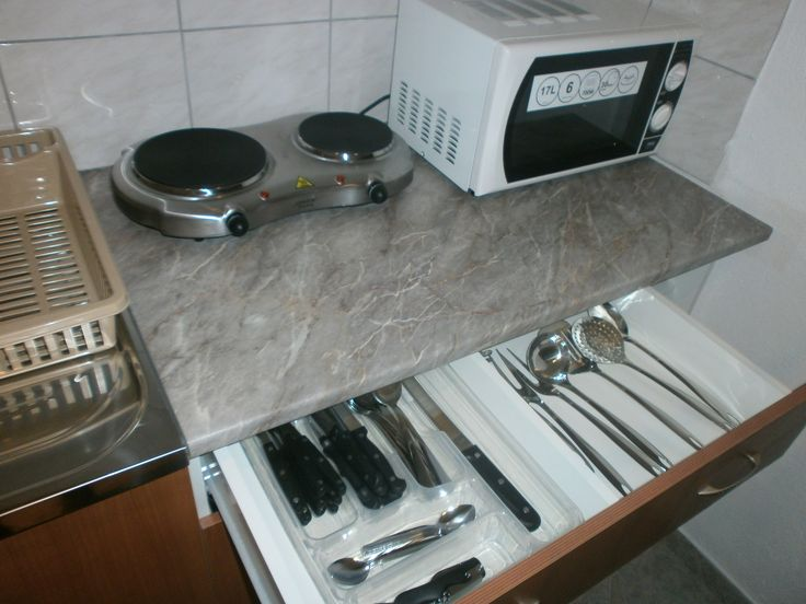 Kitchenware in apartments