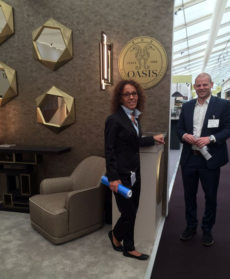 Oasis sales managers @ Decorex 2016